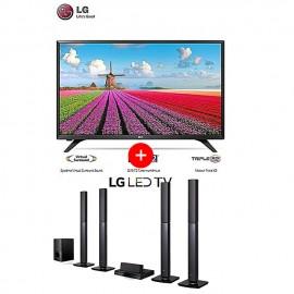 LG TV LED 43'' + LG HOME...