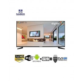 NASCO SMART TV LED – 55 POUCES – FULL HD – 12 MOIS DE GARANTIE