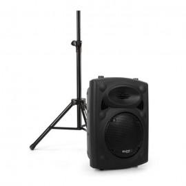 Max Enceinte Sono Portable + 2 Micros + 1 Télécommande + 1 Chargeur - Noir