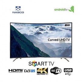 NASCO 55 Pouces -  Incurvé - Ultra HD 4K Smart - Garantie 12 Mois