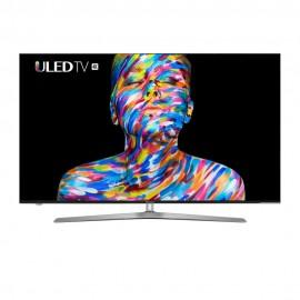HISENSE - SMART TV - 55 POUCES – ULED TV 4K - Noir - Garantie 12 mois