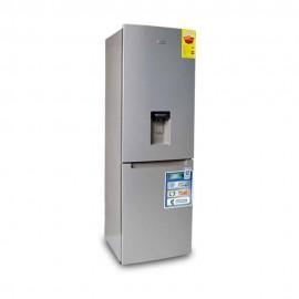 Nasco Réfrigérateur combine SNASD2-440WD - 283 Litres - Gris - 12 Mois de garantie