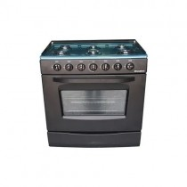Nasco Cuisinière à gaz 6 feux - GCNAS-8060B - 12 Mois De Garantie