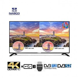 NASCO 50 Pouces Smart TV - Full HD - Wifi /Usb/Hdmi/Vga