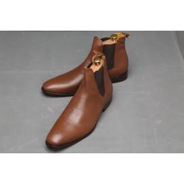 Chaussure Homme En Boot à Gaine - Marron