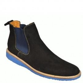 Boots à Gaines - Noir