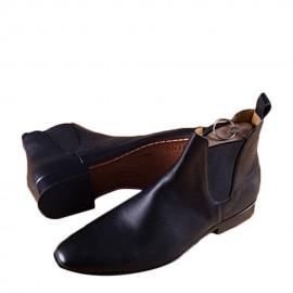 Chaussure Homme En Boot à Gaine - Noir