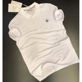 Polo Homme Manches Courtes - Blanc
