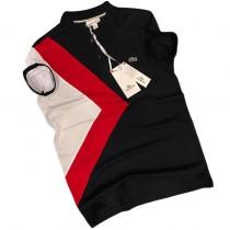 Polo Homme Manches Courtes - Noir/Blanc