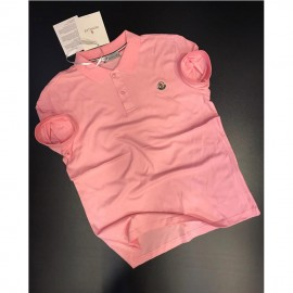 Polo Homme Manches Courtes - Rose