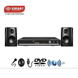 DVD Player /Dvd/CD-STH-689 - Port Usb -Bluetooth - Noir - Garantie 3 Mois