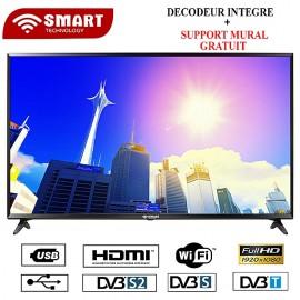Smart TV LED - 40 Pouces-STT-9040S Ou STT-7740S - Noir - Garantie 12 Mois