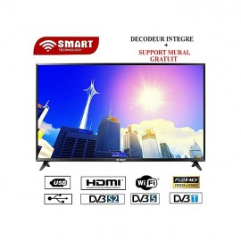 Smart TV LED - 32 Pouces-STT-5532SE Avec Wifi - Noir - Garantie 12 Mois