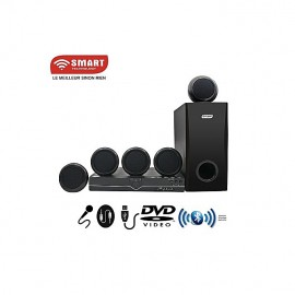 Home Cinéma -STH-5533 - 5.1 - Bluetooth - 300W - FM/USB/SD/MP3 - Noir