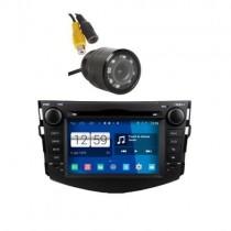 Poste Auto Avec Caméra De Recul Compatible -Toyota Rav4 - Noir