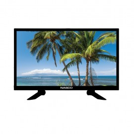 NASCO 24 Pouces  - TV LED - Ultra Slim - 48 Watts - Usb/Hdmi - Noir - Garantie 12 Mois