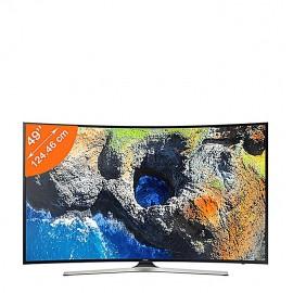 Samsung Smart TV Incurvée - 49 Pouces - Ultra HD 4K - Noir