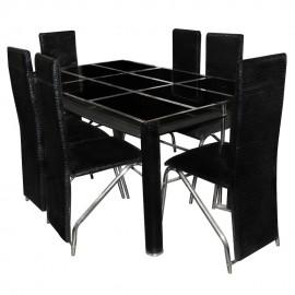 Table À Manger À 1 Étagère...
